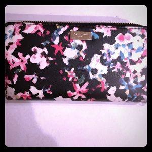 Flowery spring Kate Spade wallet